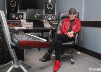 Анастасия Приходько в студии звукозаписи MART Sound